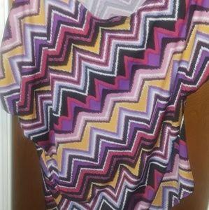Tops - Ladies Asymmetrical blouse